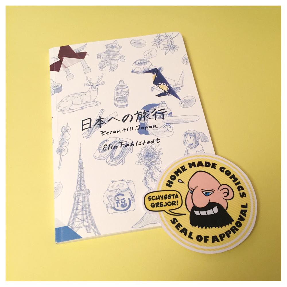 Resan till Japan av Elin Fahlstedt utgiven 2016.