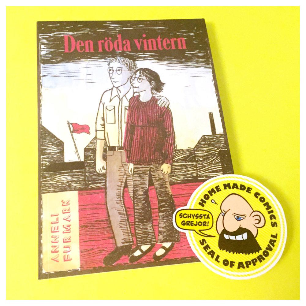 Home Made Comics Seal of Approval #170. Den röda vintern av Anneli Furmark utgiven av Kartago 2015.