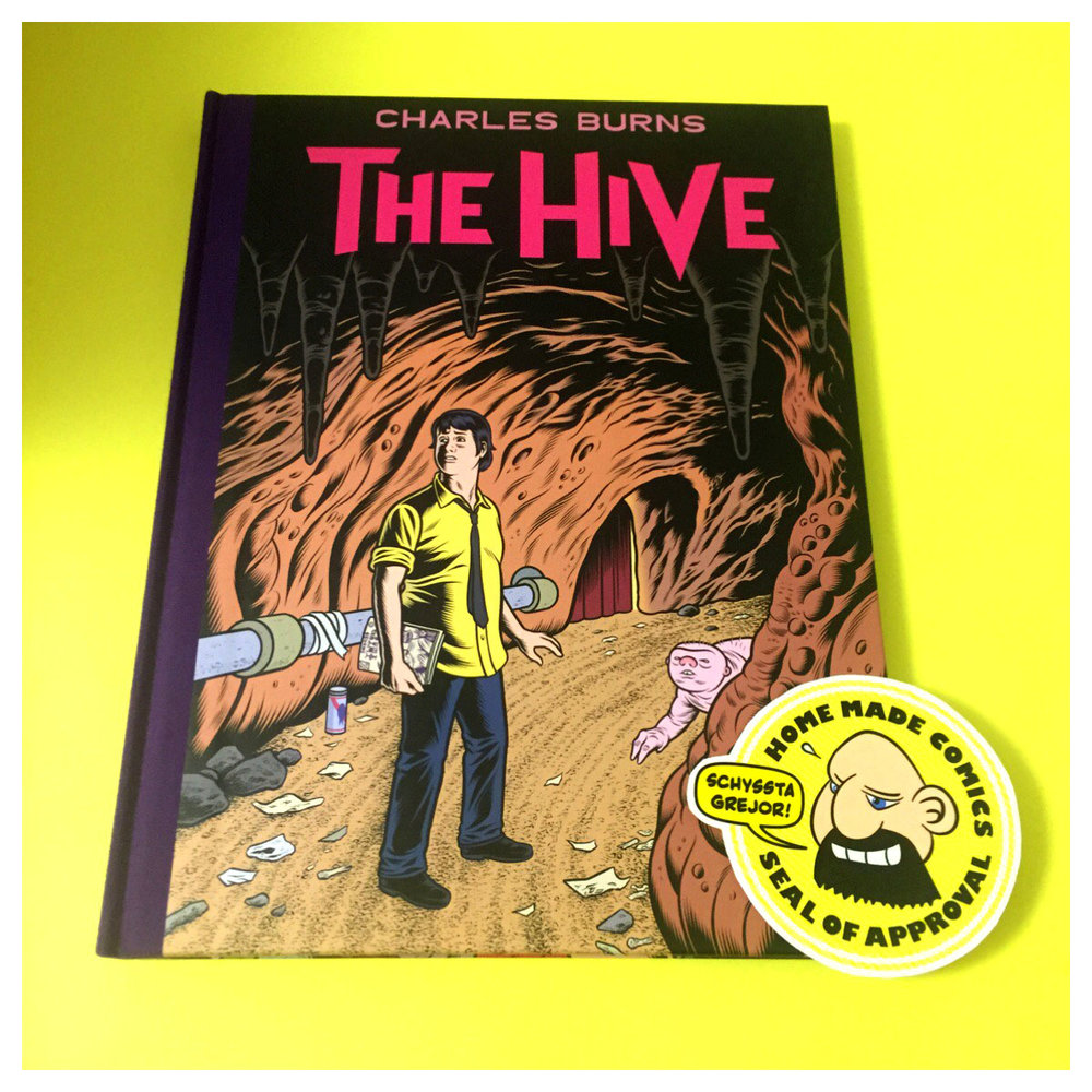 Home Made Comics Seal of Approval #183. The Hive av Charles Burns utgiven av Pantheon 2012.