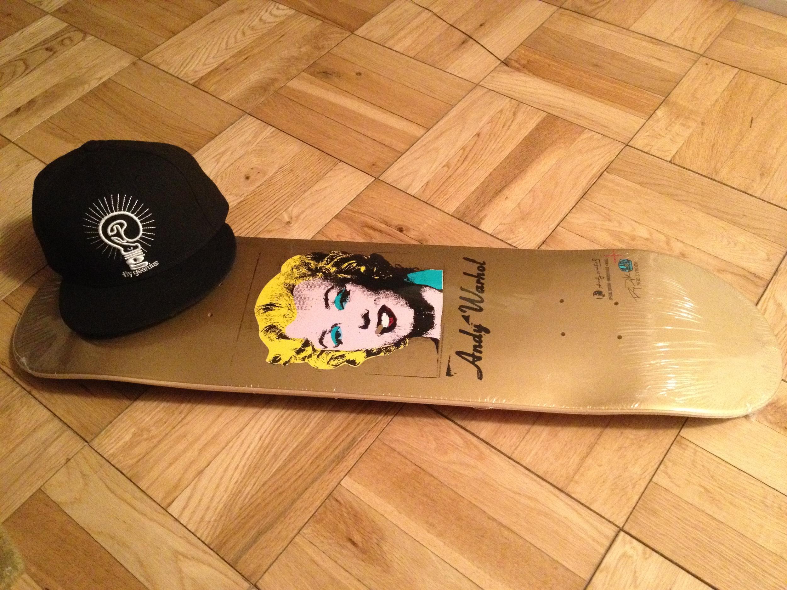 Andy Warhol Skate Deck 2