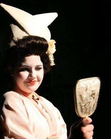 Emily as Yum-Yum in The Mikado (Guildford High School for Girls, 2008)
