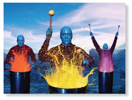 Blue Man Group, Universal CityWalk