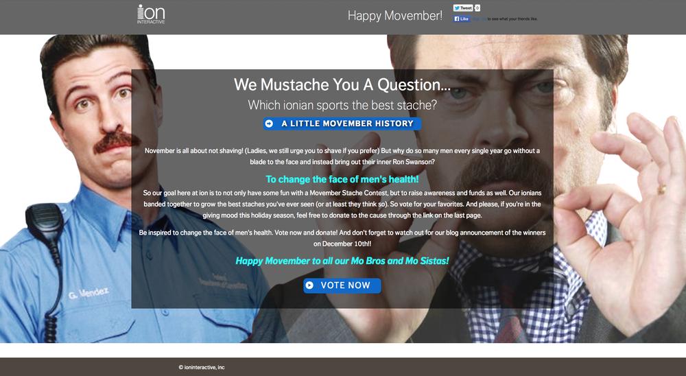 Movember_Marketing_App