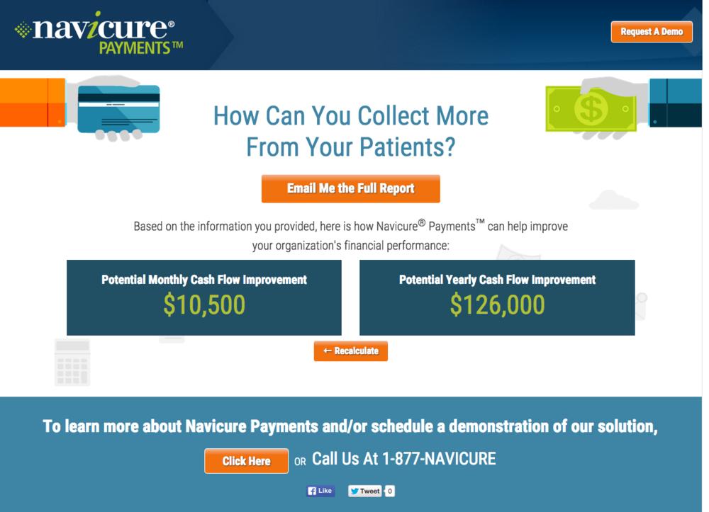 Navicure_calculator