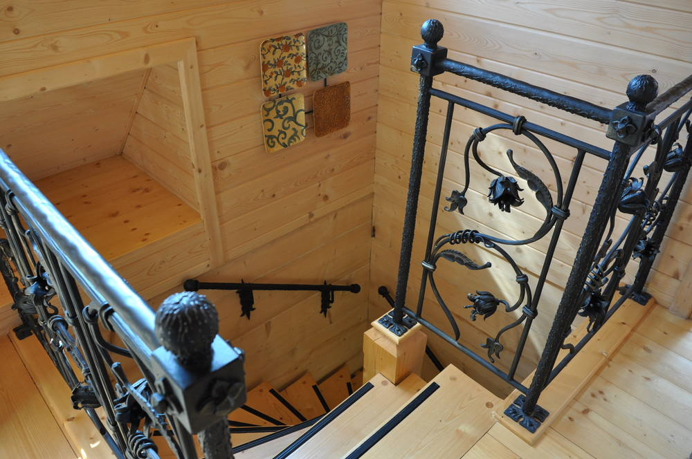 Hand Forged Stair Ironwork