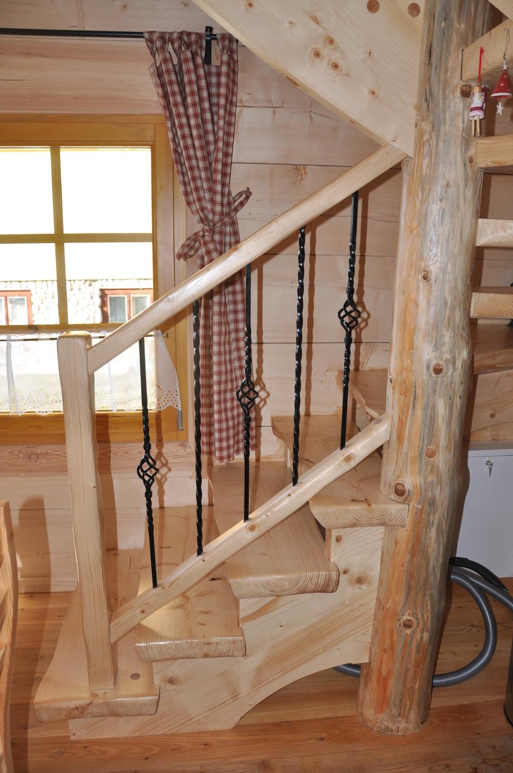 Pine Stair Case..