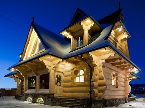 The Little Log House Company. Contact us   The Little Log House Company