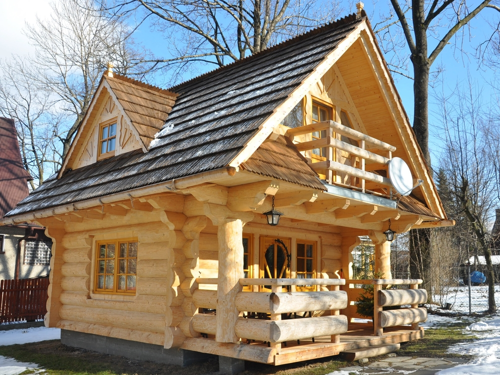 Simple Log Home Designs House Design Ideas