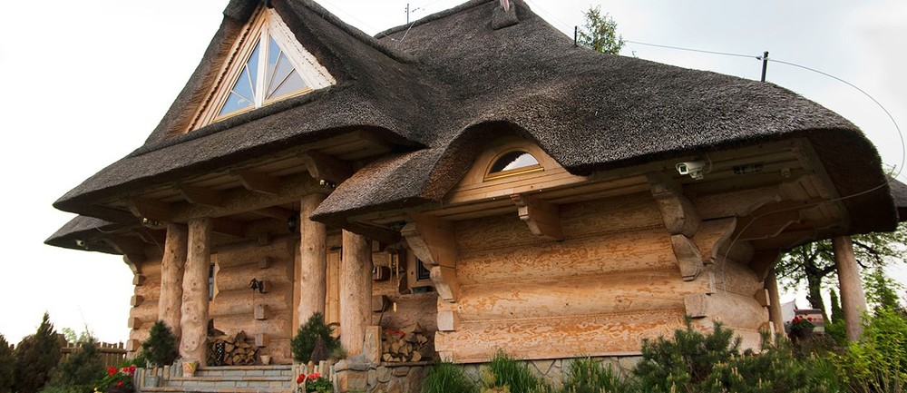 Large Log House