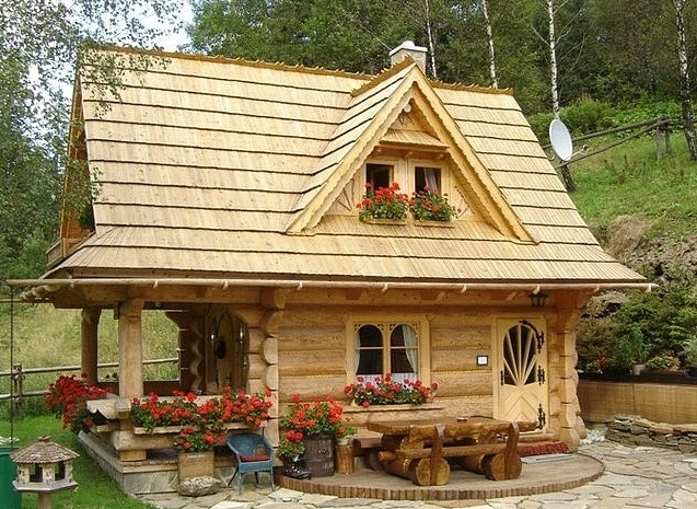 Little Log Houses ~ — The Little Log House Company