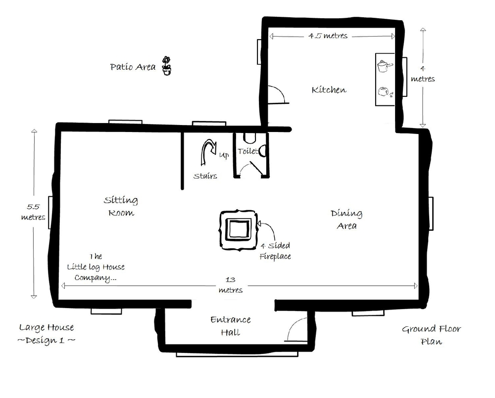Floor Plans The Little Log House Company