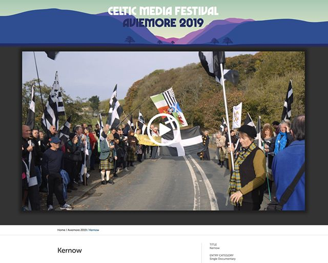 Delighted that my short doc 'Kernow' has been nominated in the Single Documentary category in this years Celtic Media Festival. Link to the film in bio.  #documentary #kernow #cornwall #filmmaker #director #celtic #celticmediafestival #aviemore #indiefilmmaker #indiefilmmaking #indiefilm
