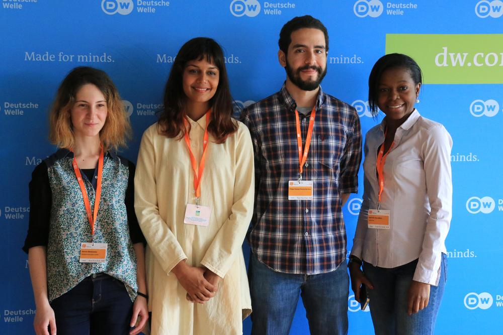 Equipe de Vídeo: Geórgia, África do Sul, Brasil e República do Congo