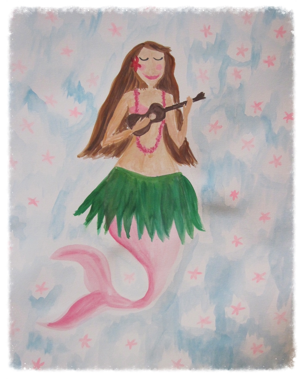Hula mermaid
