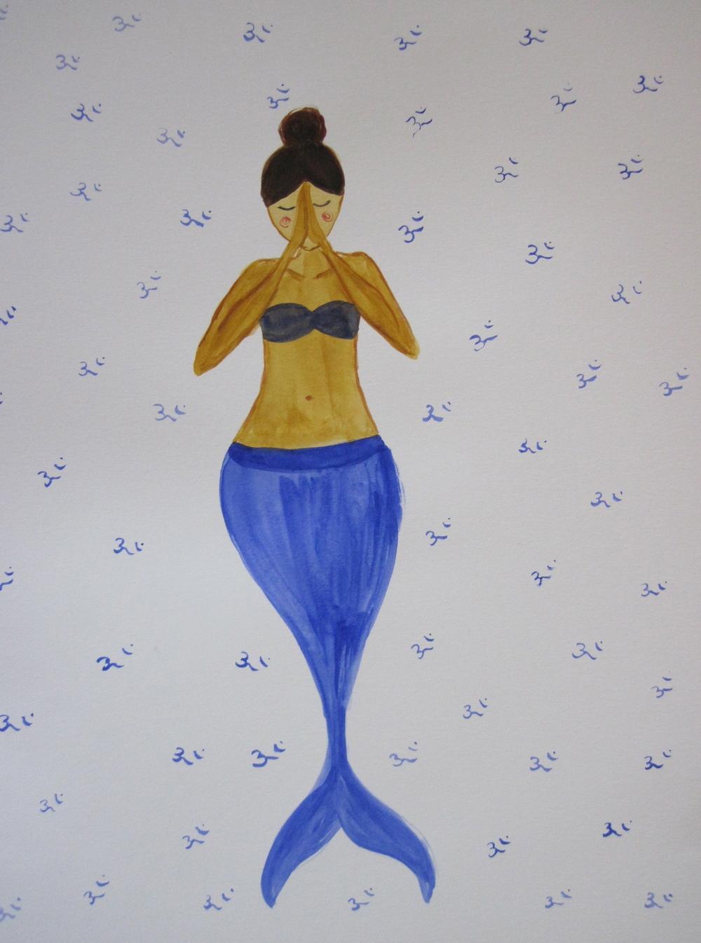 Om mermaid