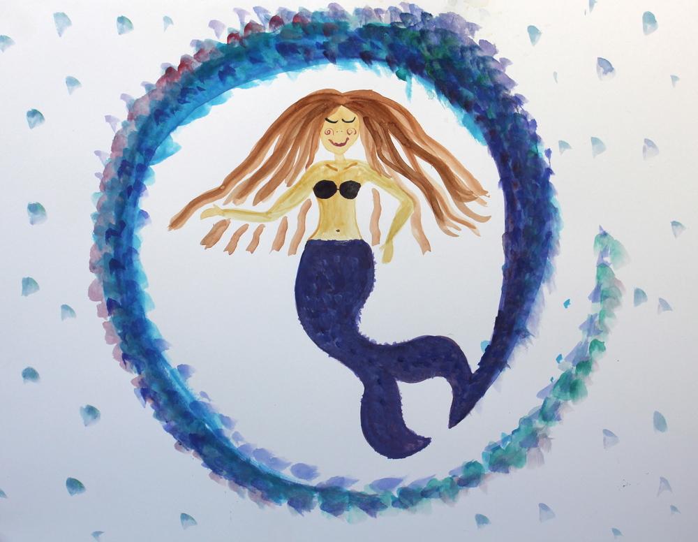 centered mermaid