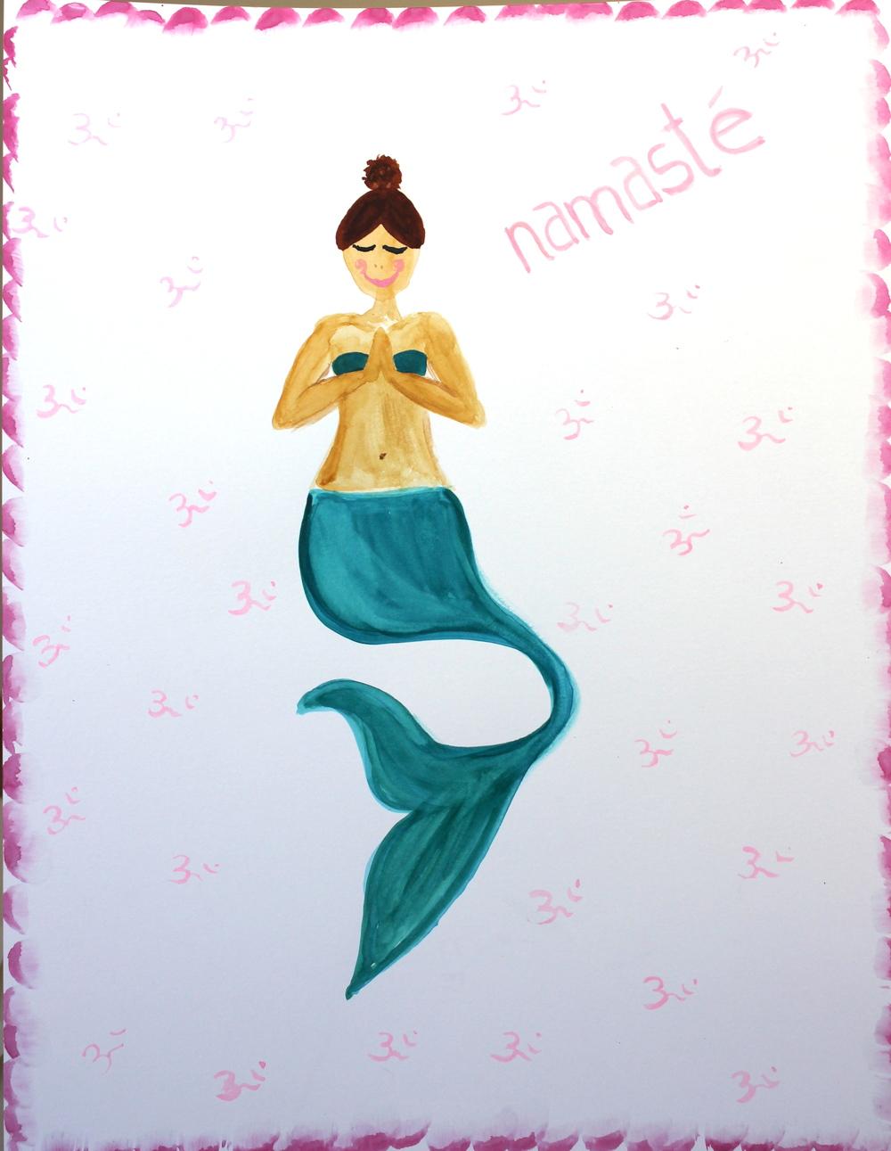 Namaste mermaid