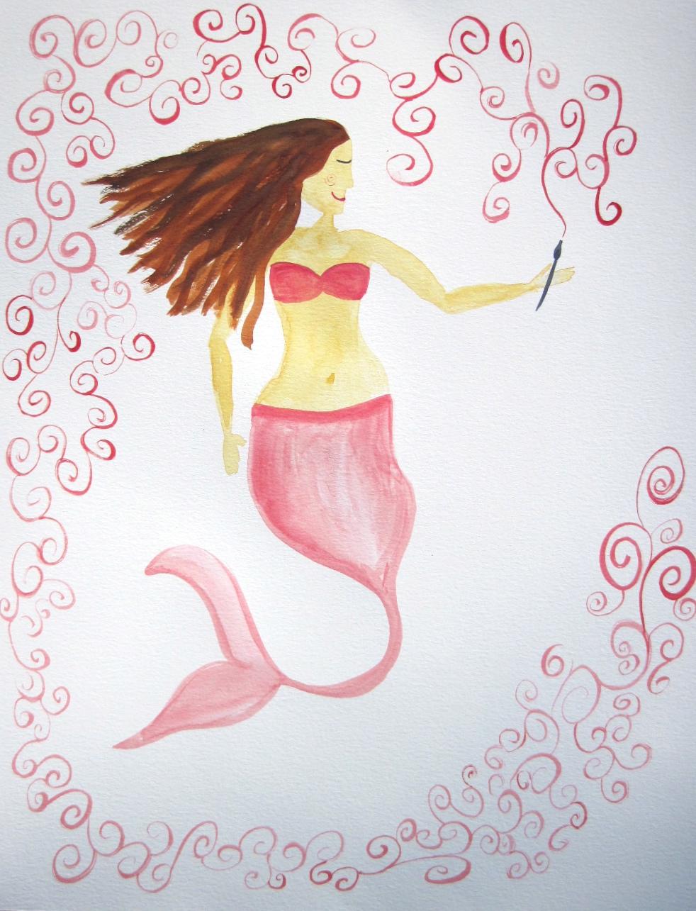 Creative mermaid