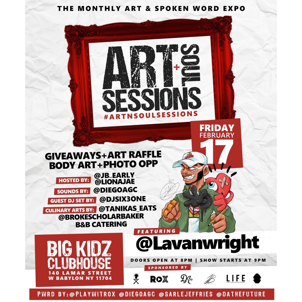 Art N Soul Sessions Feb