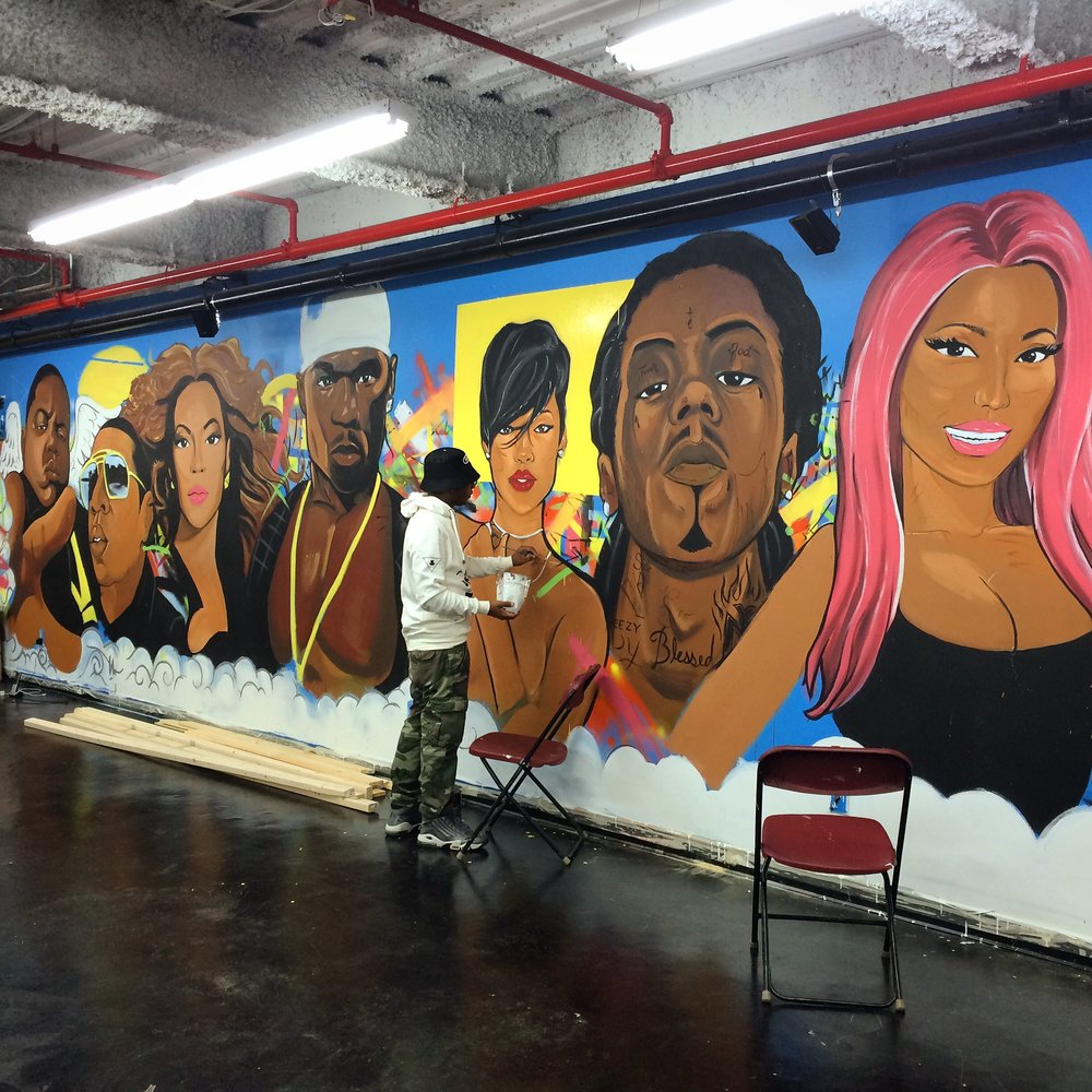 Murals - Click below to book one