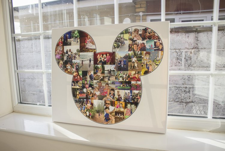 Mickey Mouse Disney - Red Canvas LTD - Photo Collage Canvas.jpg