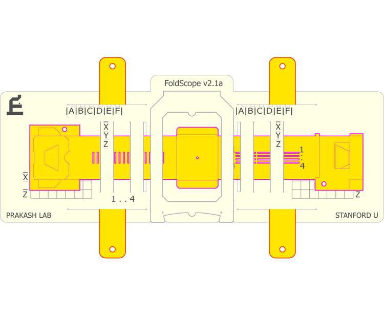 Foldscope CAD
