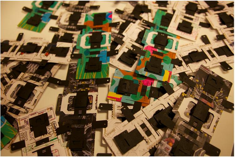 Foldscope manufacturing