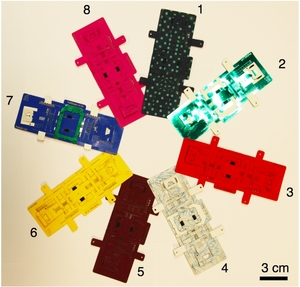 origami optical microscope