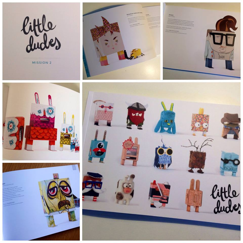 Little Dude - Mission 2, the published booklet