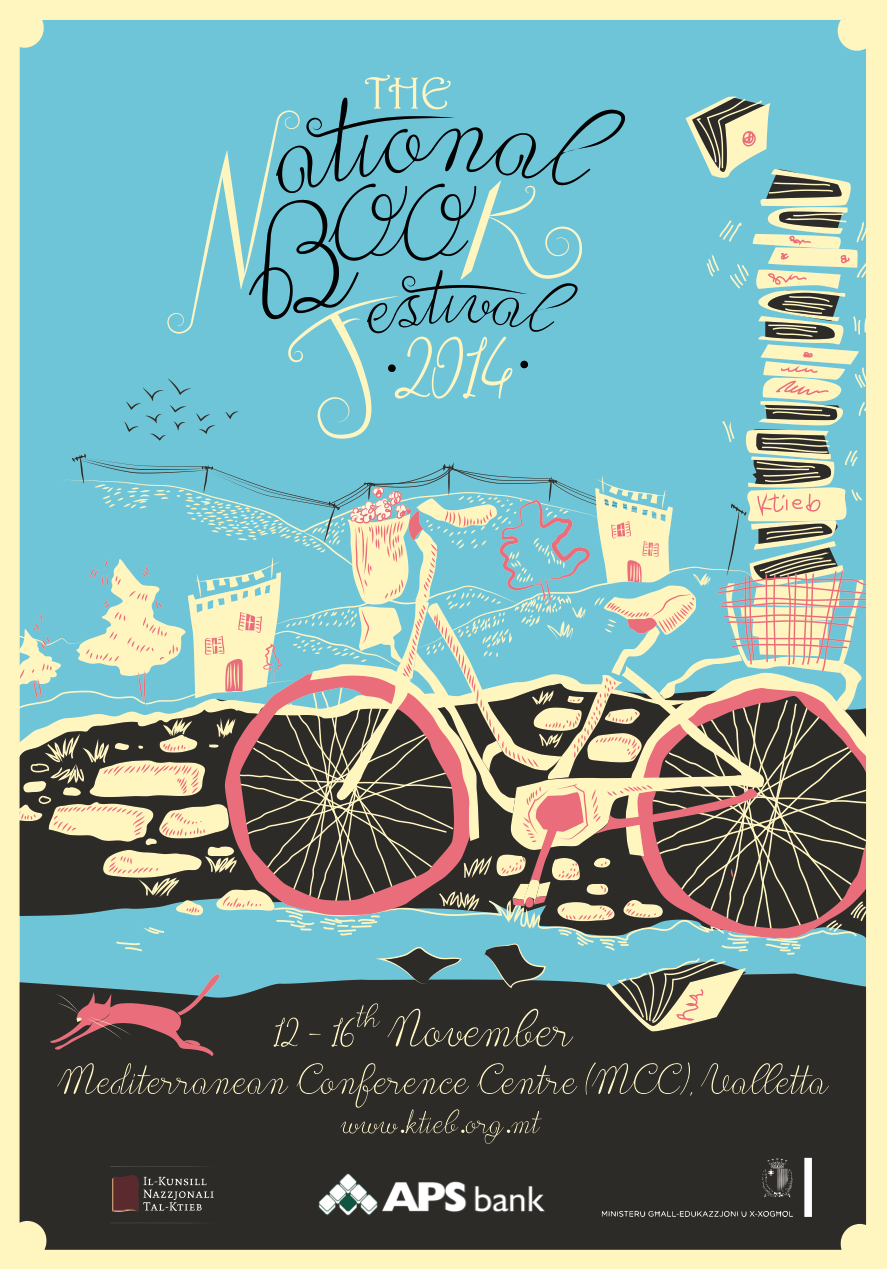 Poster for the National Book Festival 2014