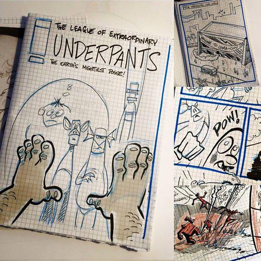 Sketches for TLOEU by Mark Scicluna