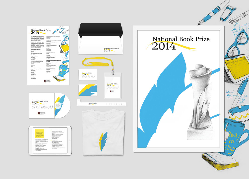 Brand Identity for National Book Prize 2014