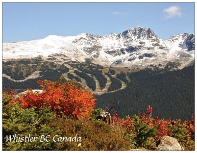 3. View to Blackcomb Mountain.