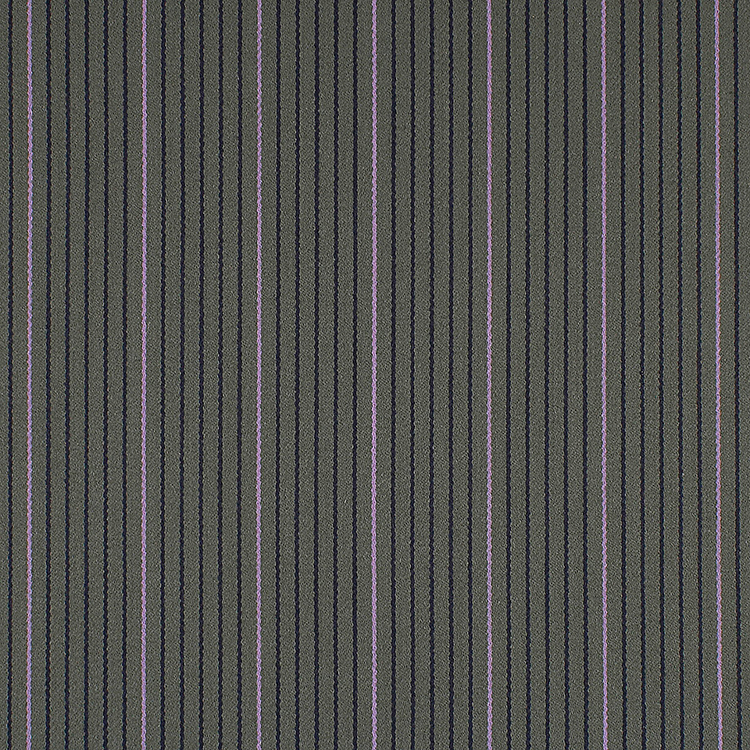 Changing Lines -  is an elegant wool fabric. The two colors stripes gives an illusion of larger stripes in a subtle way. The shine of this material makes it even more luxurious. Available in 6 colorways.