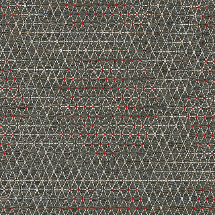 Dot Structure - Grey & Red
