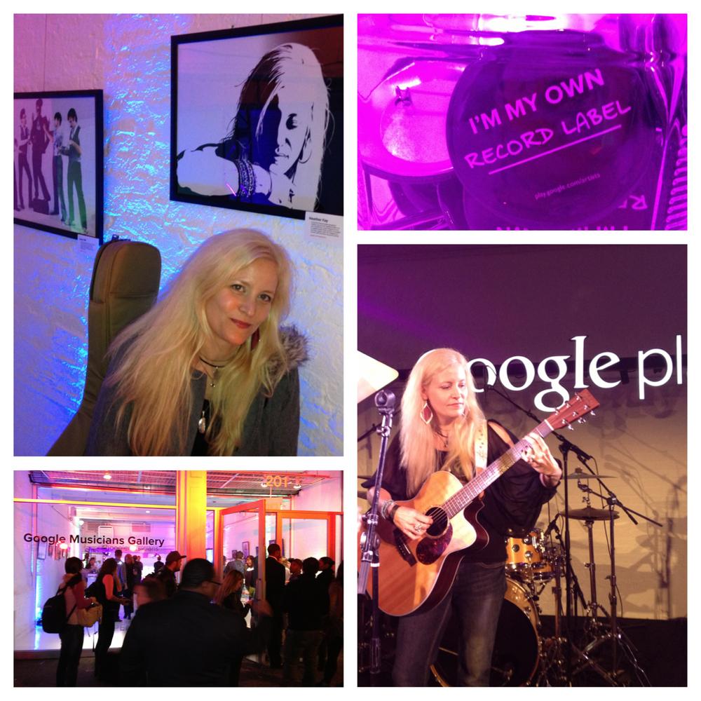 CMJ 2012 - GooglePlay Musicians Gallery Event