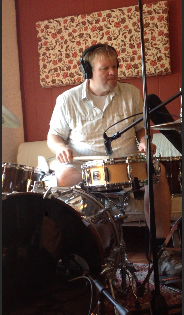 Jeff Farber on drums...