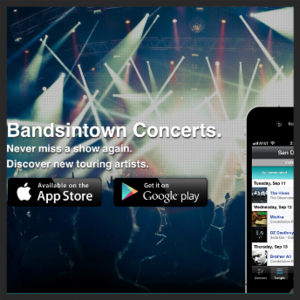 4. BANDS IN TOWN APP
