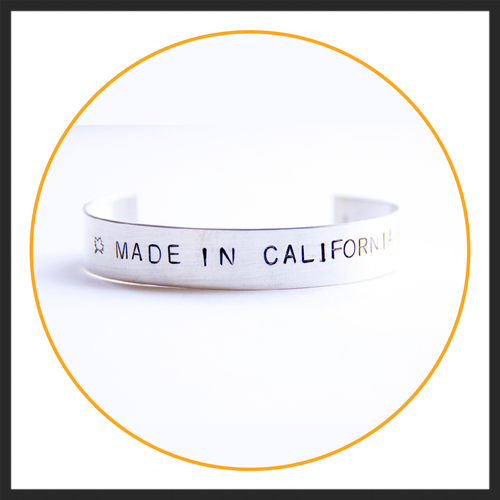 MADE IN CALIFORNIA CUFF