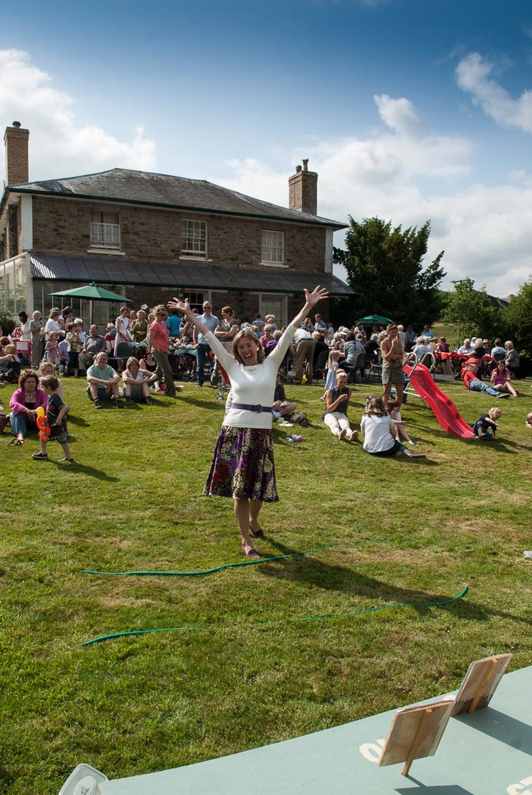 Quoits is one of many traditional games held at the annual village fete