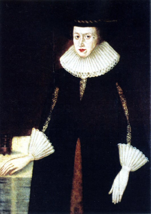 Lady Hawkins (Nee Vaughan of Kington) 1550 - 1620