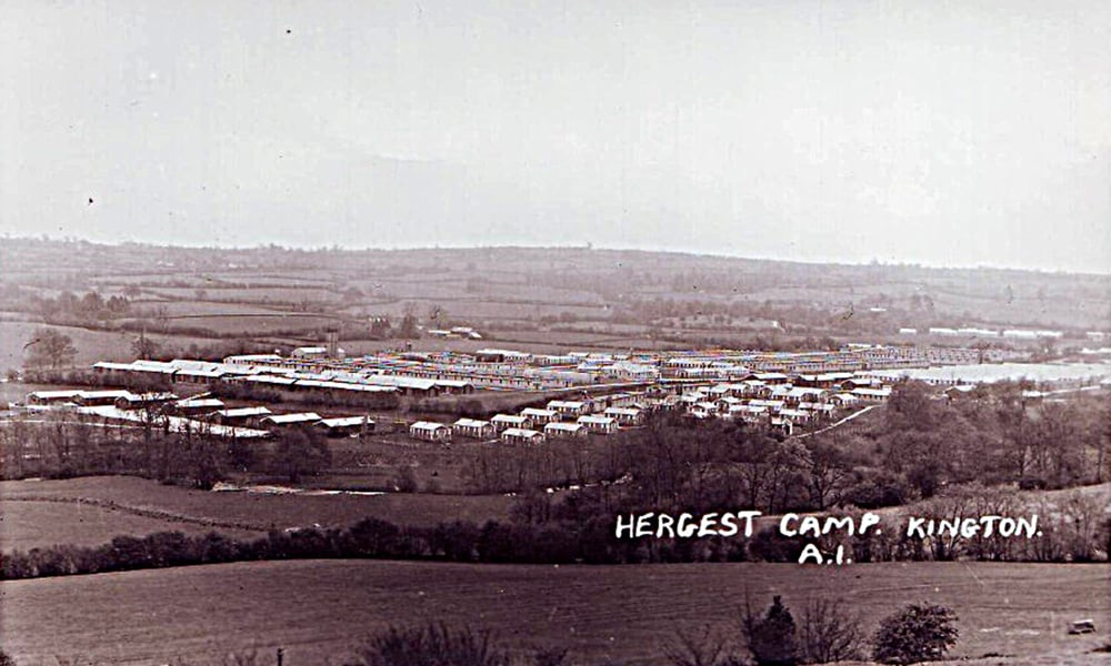 The camp – photo courtesy of Phyllis Williams