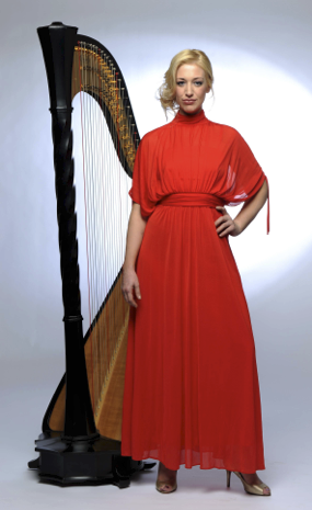 The Mid-Summer Concert with International Harpist, Jemima Phillips —  Friends of St Thomas à Becket, Huntington