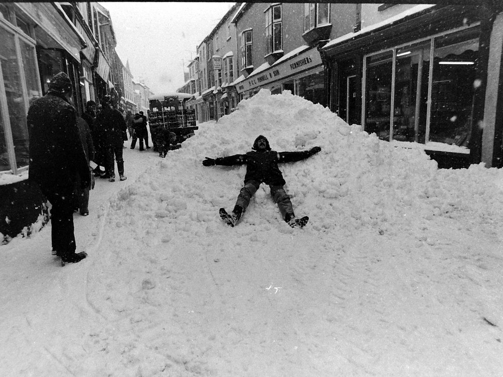 A Snowy day in Kington