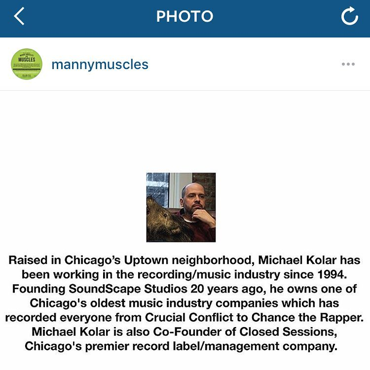 My good friend @mannymuscles is having a fundraising dinner to send kids with MD to summer camp. Come dine with me & raise money for a good cause. Tickets at www.mannymuscles.com/ (at SoundScape Studio)