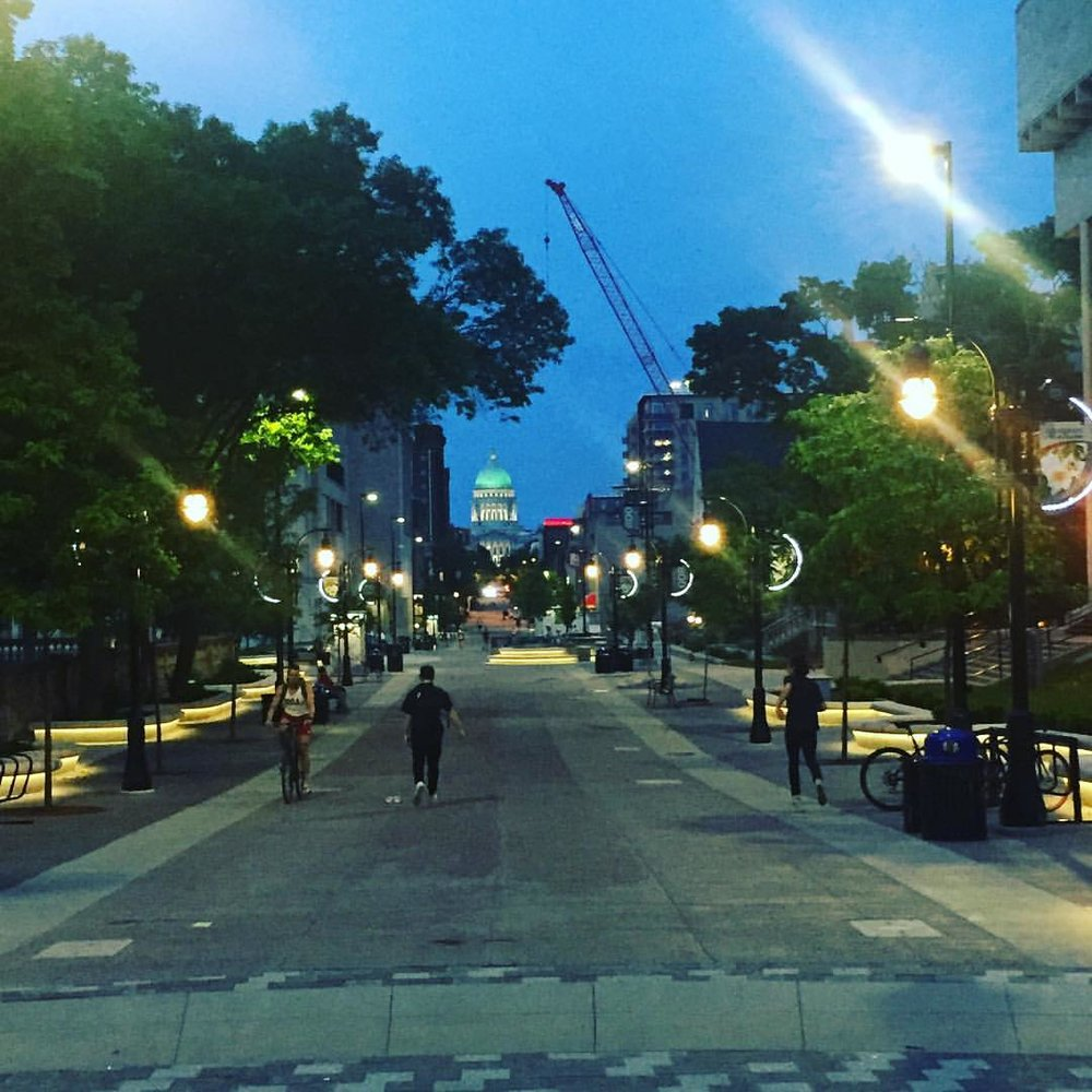 I really like Madison (at University of Wisconsin-Madison)