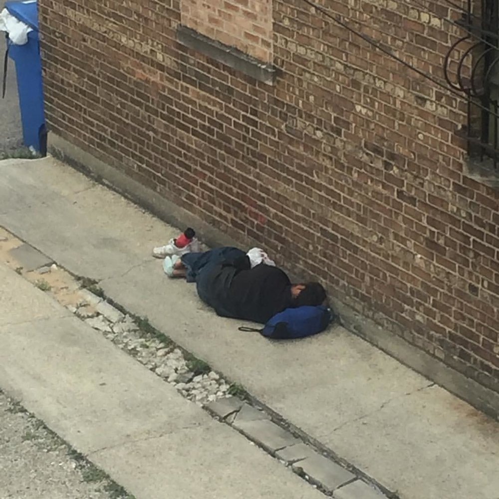 So I wake up to find a homeless man sleeping on my property. So while the rest of this country will fuck around and get drunk, eat like slobs, blow shit up & discuss the merits of the 2 corn balls next up to further erode my country, I am just gonna hand by brother some Perrier water & a Jackson and spend my day mixing records and being grateful i have a roof over my head & a place to make records. (at SoundScape Studio)