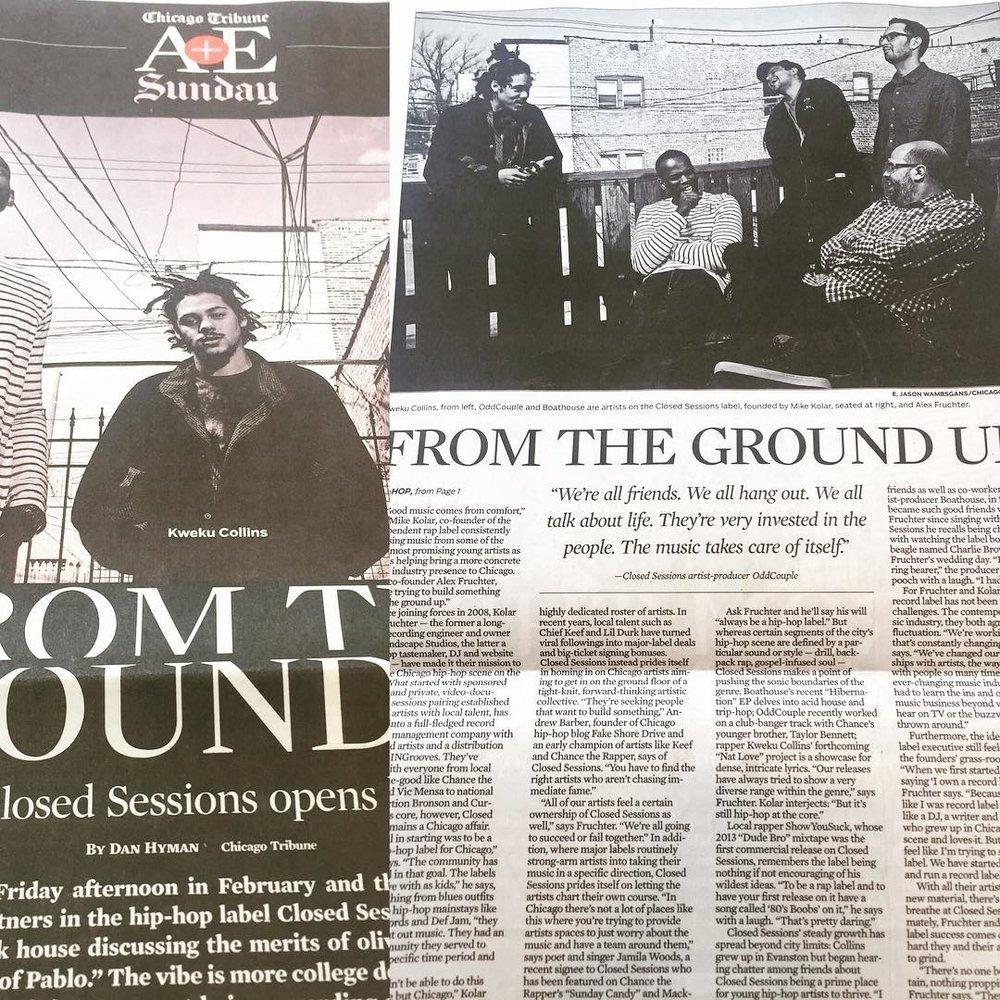 Squad made The Tribune A&E cover today