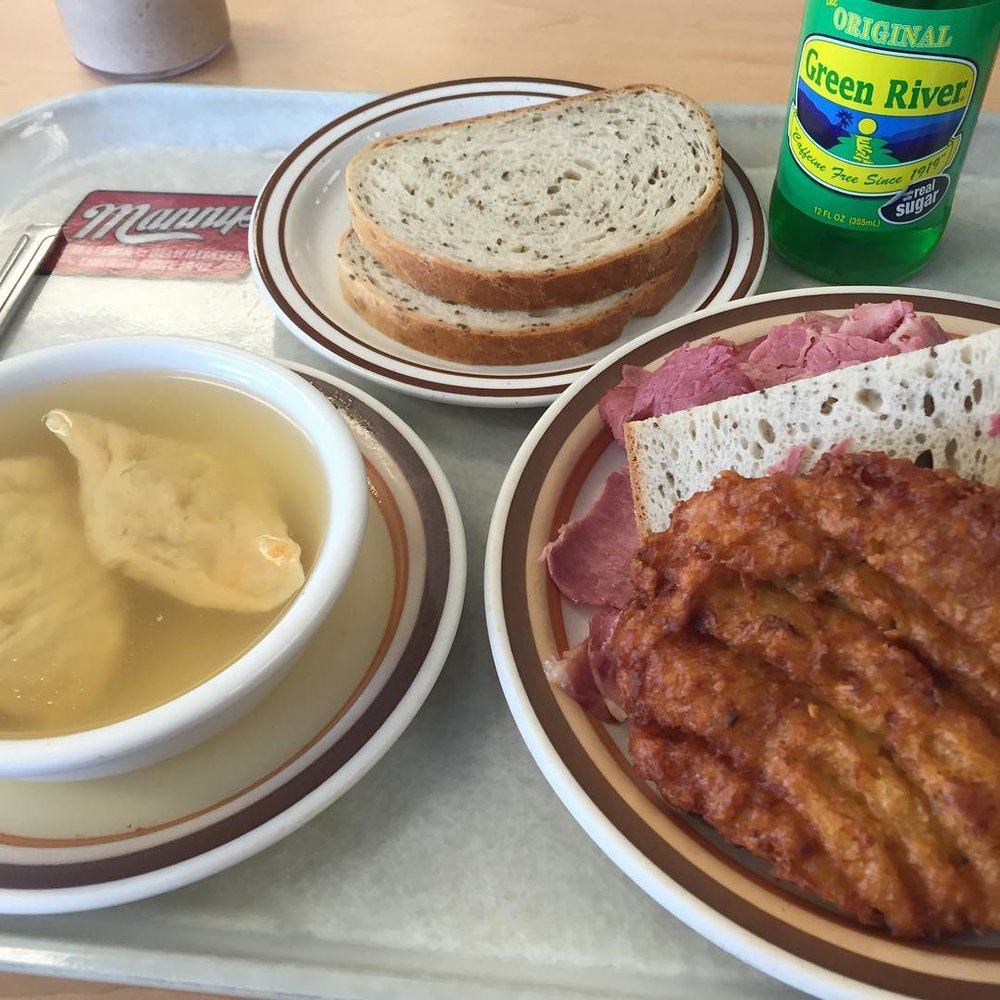 A Chicago Institute (at Manny's Cafeteria & Delicatessen)