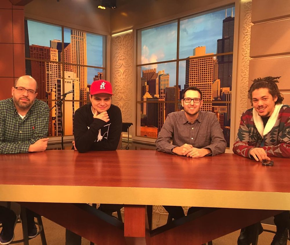 I'm Ron Burgundy (at Windy City LIVE @ WLS ABC7 Studios)